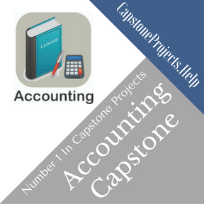 Accounting Capstone Project Help