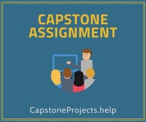 Capstone Assignment