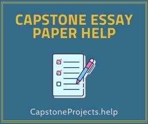Capstone Essay Paper Help