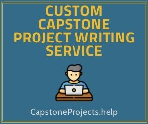 Custom Capstone Project Writing Service