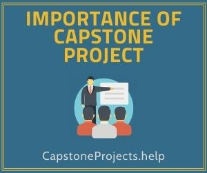 Importance Of Capstone Project