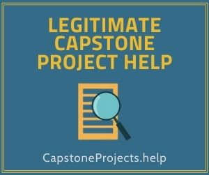 Legitimate Capstone Project Help